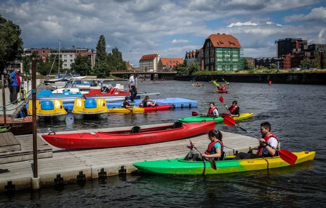 W Gdańsku powstaną cztery nowe przystanie kajakowe