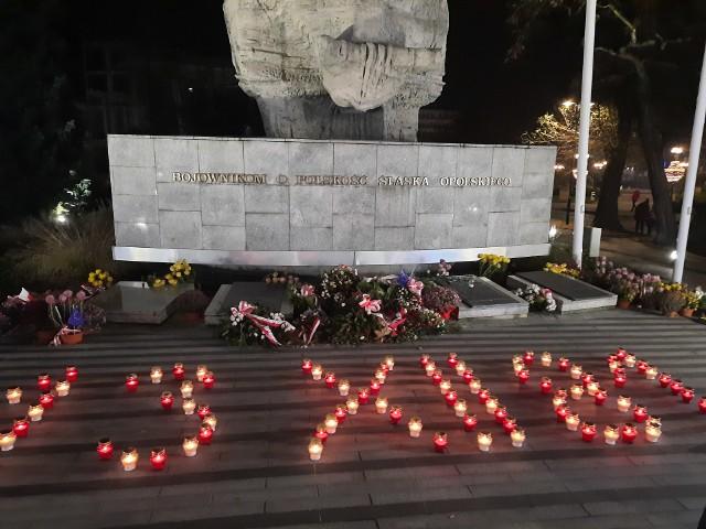Popołudniowe uroczystości obchodów 39 rocznicy ogłoszenia stanu wojennego.