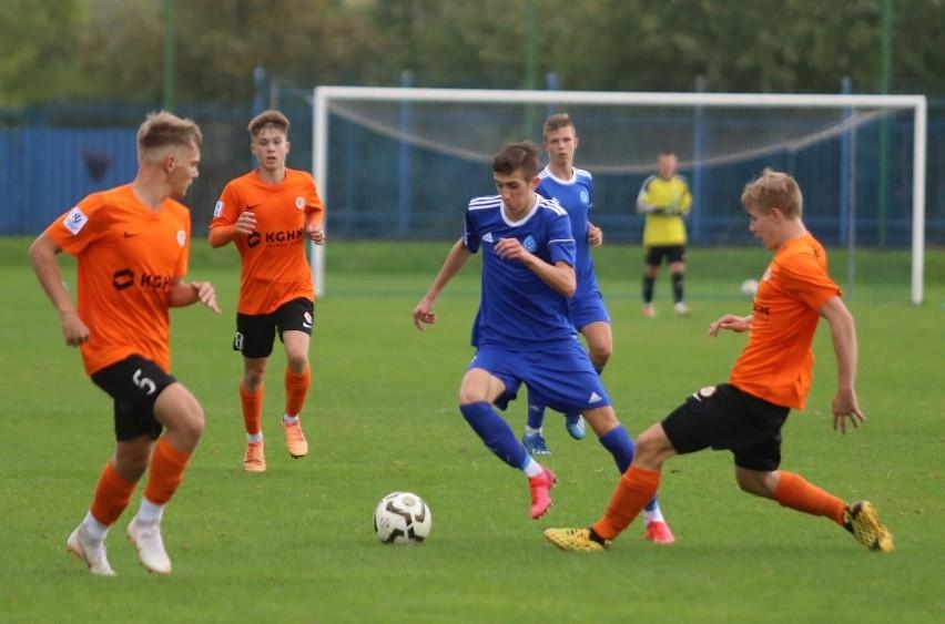 Zawodnicy Ruchu Chorzów sprawili sporą niespodziankę i wygrali 1:0 z Zagłębiem Lubin w meczu 9. kolejki Centralnej Ligi Juniorów U-17.