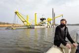 Wizyta marszałka województwa nad Łarpią. Zobaczył, co stało się z rzeką