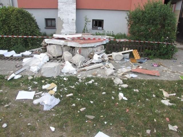 Portal e-grajewo.pl jako pierwszy poinformował o wybuchu gazu w Szczuczynie w bloku przy ulicy Sienkiewicza.