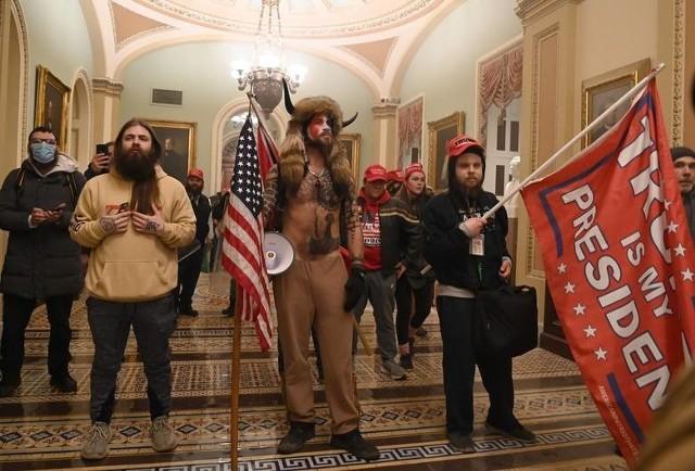 Zwolennicy Donalda Trumpa po szturmie na Kapitol