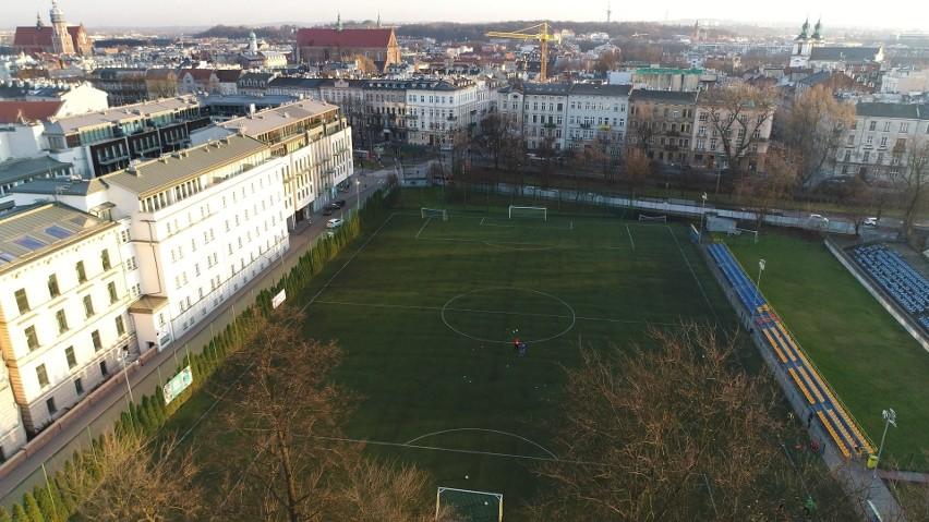 Stadion Klubu Sportowego Nadwiślan Kraków przy ul. Koletek...