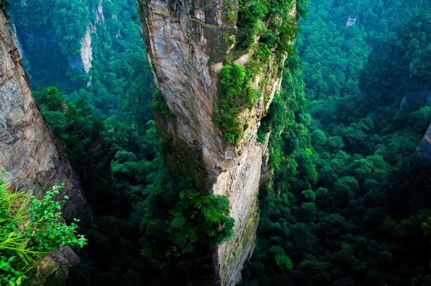 Park Narodowy Zhangjiajie, Chiny...