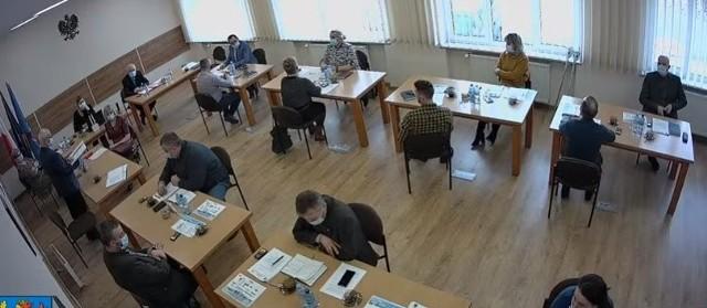 Środowa (24.02.2021 r.) sesja Rady Gminy w Trzebielinie