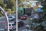 Remont drogi sparaliżował Tarnobrzeg. Zobacz zdjęcia