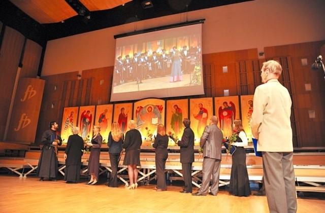 Międzynarodowy Festiwal Muzyki Cerkiewnej Hajnówka (na zdjęciu tegoroczna edycja) został w 2003 roku przeniesiony do Białegostoku
