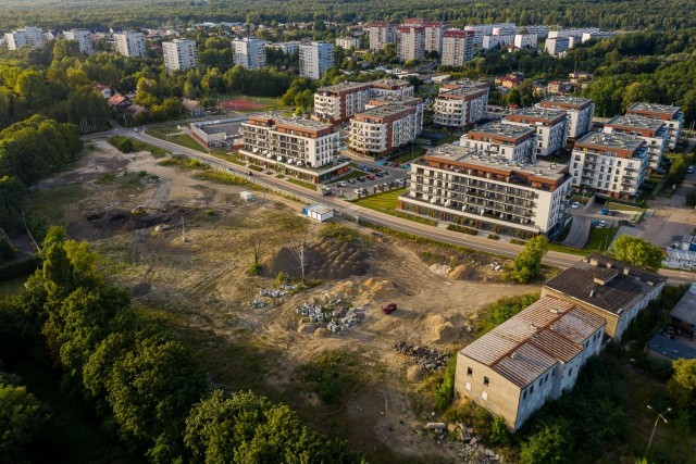 Budowa pierwszego etapu projektu Franciszkańskie Południe w Katowicach. Zobacz kolejne zdjęcia. Przesuwaj zdjęcia w prawo - naciśnij strzałkę lub przycisk NASTĘPNE