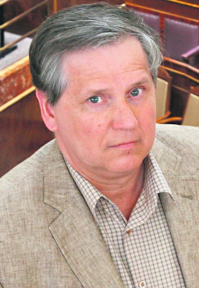 Prof. Zygmunt Woźniczka z Uniwersytetu Śląskiego