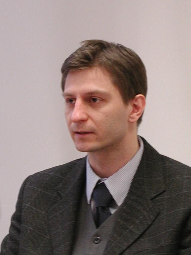 Marek Dźwigaj,dyrektor Regionalnej Instytucji Finansującej Podlaskiej Fundacji Rozwoju Regionalnego