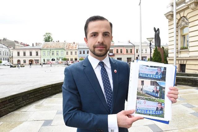 Jakub Bocheński z Wiosny złożył zawiadomienie o popełnieniu przestępstwa do prokuratury o możliwości popełnienia przestępstwa przez posła Arkadiusza Mularczyka