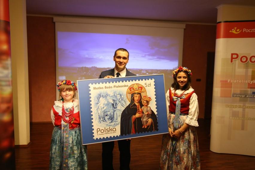 W Muzeum Sanktuaryjnym w Piekarach Śląskich odsłonięto nowy znaczek Poczty Polskiej z wizerunkiem Matki Boskiej Piekarskiej