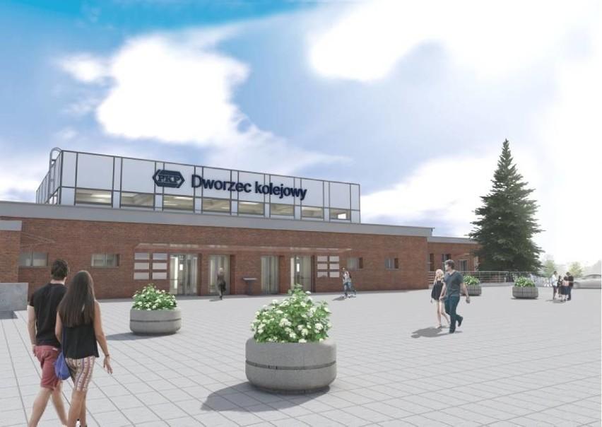 Przebudowa dworca PKP w Tczewie. Wpłynęły trzy oferty w przetargu. Jak się zmieni po remoncie? [WIZUALIZACJE]