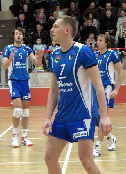 Na zdjęciu Kamil Skrzypkowski