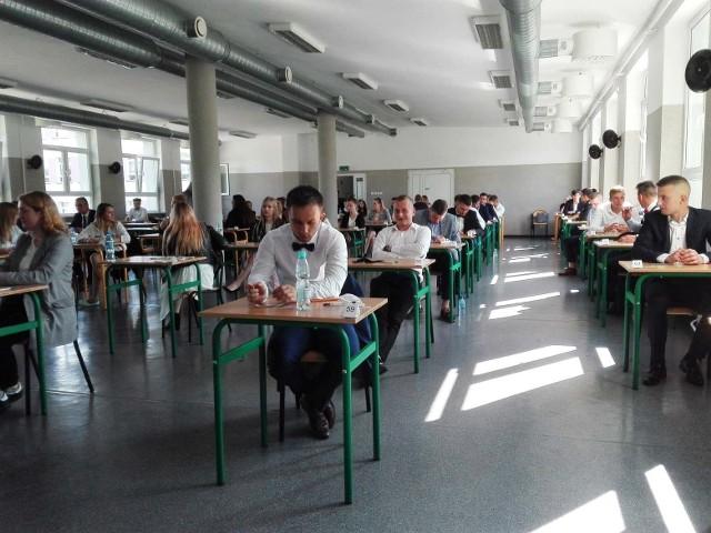 Matura 2020 w ZSZ nr 2 w Ostrołęce