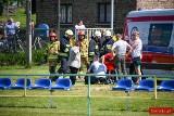 Tragiczny wypadek w Pankach. Półtoraroczny chłopczyk jest dotkliwie poparzony. Dziecko trafiło do szpitala w Katowicach helikopterem LPR
