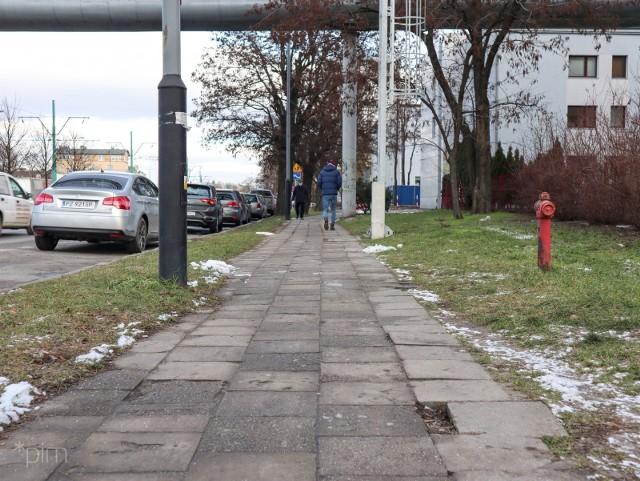Już rozpoczęły się prace nad kolejnym odcinkiem drogi rowerowej przy ul. Grunwaldzkiej