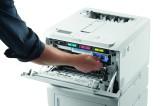 Firma OKI dostarcza sprzedawcom detalicznym możliwości drukarni dzięki kompaktowej drukarce C650
