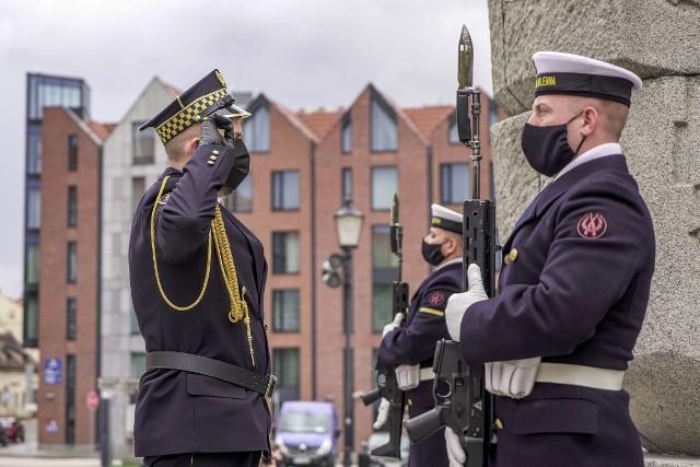 Gdańsk. Uroczystości 76 rocznicy zakończenia II wojny światowej