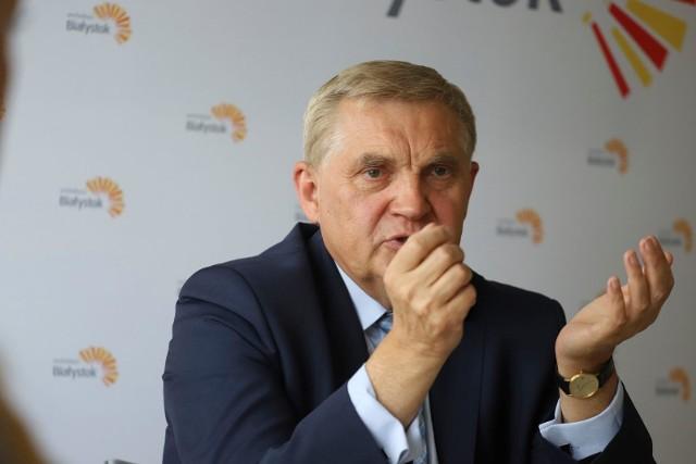 Jeśli chodzi o pieniądze zgromadzone na koncie, to najwięcej ma ich prezydent Białegostoku Tadeusz Truskolaski.