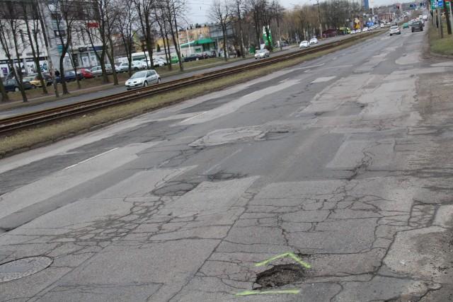 Tak wygląda dziś ul. Piłsudskiego, która wkrótce będzie remontowana