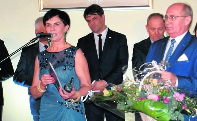 Burmistrz Bożena Budzik (na zdjęciu podczas spotkania noworocznego w Kaliszu) miała zarzucać swoim pracownikom wszechobecne romanse. Pretensje kierowała przede wszystkim do kobiet