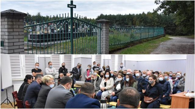 Mieszkańcy zapowiadają, że zrobią wszystko by spopielrania koło cmentarza w Nowych Żukowicach nie powstała. Są gotowi nawet zablokować autostradę