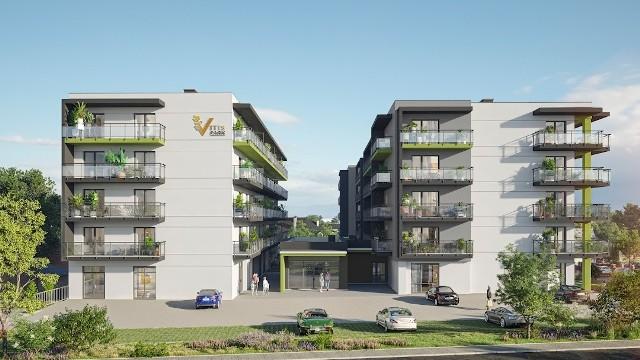 Tak będą wyglądały apartamentowce Vitis Park.