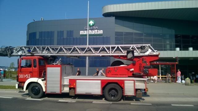 Strażacy ewakuowali Galerię Manhattan w Gorzowie