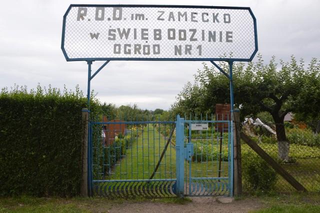 Ogródki działkowe przy ul. Poznańskiej
