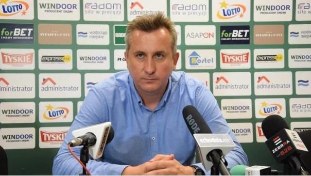 - Stworzyłem drużynę, która grała raz lepiej i raz gorzej, ale nie zapominajmy, że doszło do niej sześciu nowych zawodników - powiedział nam Grzegorz Opaliński