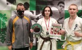 Oliwia Małecka z Koneckiego Klubu Karate Kyokushin został wicemistrzynią Polski [ZDJĘCIA]