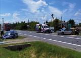 """Wypadek na krajowej """"dziewiątce"""" w Miłkowie. Był potężny korek (ZDJĘCIA)"""
