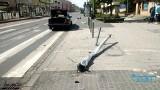 Przez wypadki w ciągu doby w Poznaniu zniszczono dwa sygnalizatory świetlne. Zarząd Dróg Miejskich apeluje ostrożniejszą jazdę