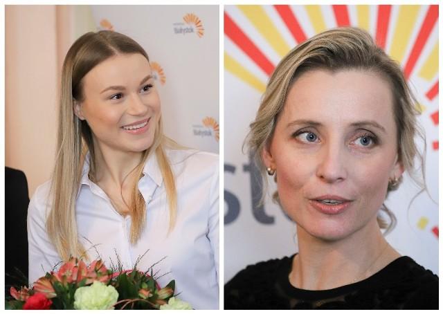 Natalia Maliszewska i jej trenerka Urszula Kamińska otrzymały nagrody finansowe od prezydenta Białegostoku Tadeusza Truskolaskiego.