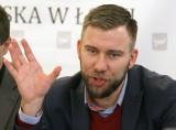 Oby oburzeni sami nie oburzyli, czyli demonstracja przeciw wiceprzewodniczącemu łódzkiej rady Bartoszowi Domaszewiczowi