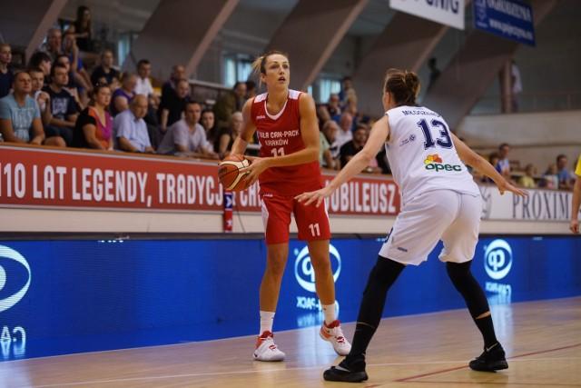 Wisła Can-Pack - Basket 90 Gdynia, mecz w Krakowie.