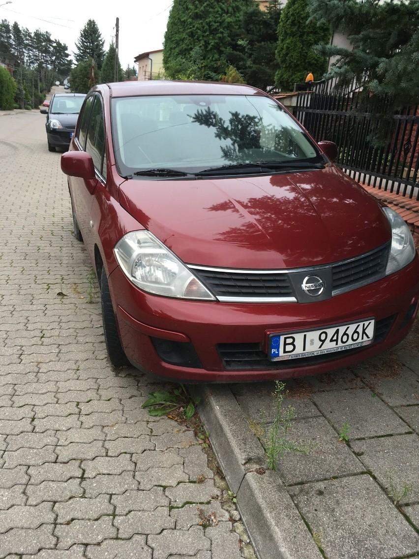 Sam. Os Nissan Tiida ROK 2008 nr rej BI 9466K VIN:...