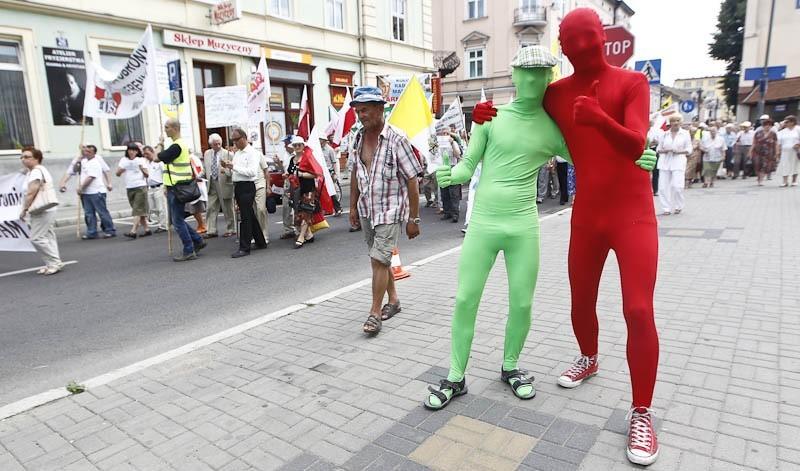 Marsz w obronie telewizji Trwam w Rzeszowie...