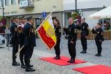 Straż Miejska w Białymstoku świętowała przed Pałacykiem Gościnnym (zdjęcia)