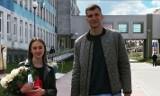 Piłkarz ręczny Łomża Vive Kielce Władysław Kulesz odebrał żonę i syna ze szpitala