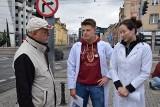 Protest studentów medycyny we Wrocławiu (ZDJĘCIA)