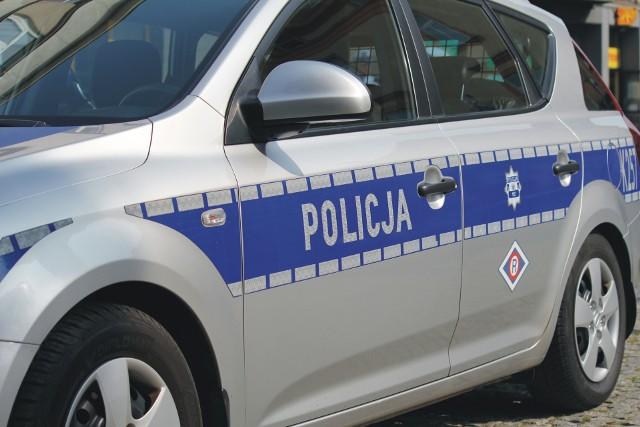 Lubaczowscy policjanci ścigali uciekającego w audi policjanta.
