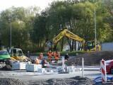 Budowa ronda na ul. Jana Pawła II w Koszalinie trwa [zdjęcia]