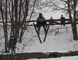 Łódź. Zobacz trening skoków narciarskich na Rudzkiej Górze! Skoczkowie znów skakali na Rudzkiej Górze. Skoki Narciarskie w Łodzi!
