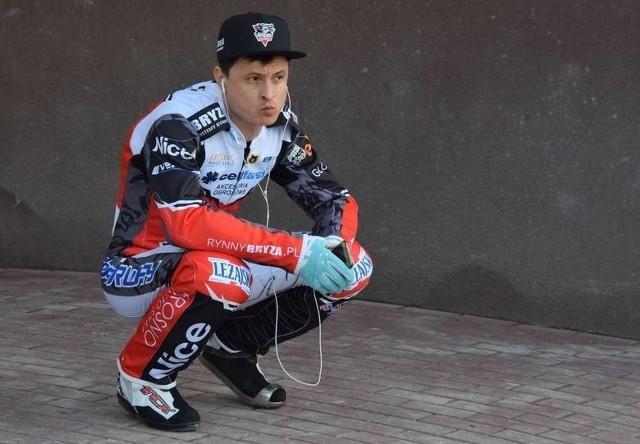Andrij Karpow przed poprzednie dwa sezony bronił barw Wilków Krosno