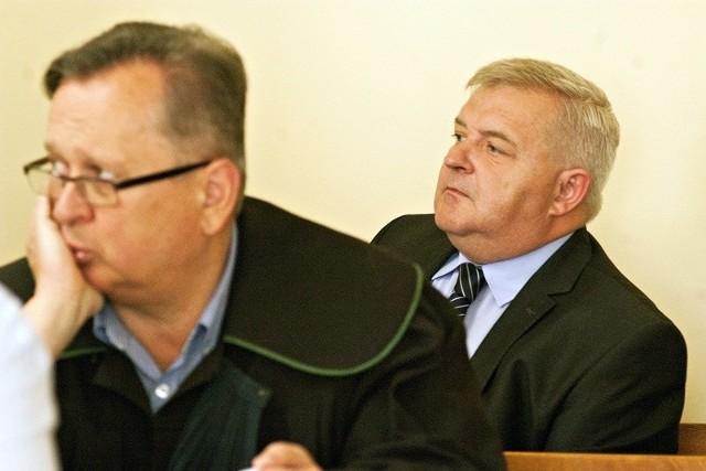 Jeśli sąd apelacyjny uzna choć część winy prezydenta, automatycznie będzie to koniec jego urzędowania. Na zdjęciu Tadeusz Jędrzejczak w sali rozpraw.