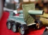 ZIELONA GÓRA. Mała Armia - wystawa zabawek militarnych w Lubuskim Muzeum Wojskowym w Drzonowie