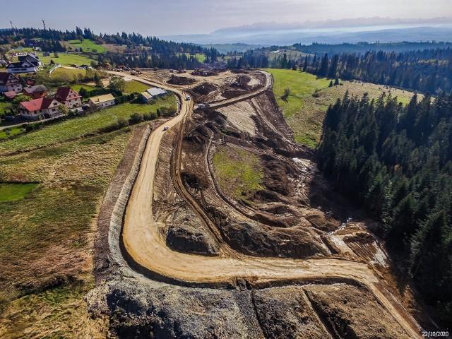 Budowa zakopianki z Rdzawki do Nowego Targu (DK 47)