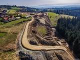 Nowe zdjęcia z budowy zakopianki do Nowego Targu. Rozmach prac na DK47 wzbudza podziw! 11.11